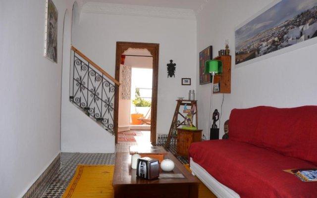 Отель Tanger Chez Habitant Марокко, Танжер - отзывы, цены и фото номеров - забронировать отель Tanger Chez Habitant онлайн комната для гостей