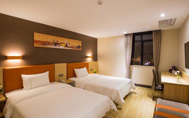 IU Hotel Chongqing Fengdu Pingdu Avenue комната для гостей