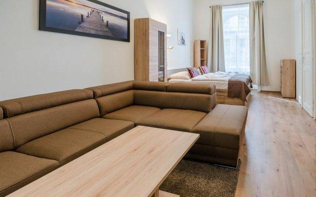 Отель Historic Centre Apartments V Чехия, Прага - отзывы, цены и фото номеров - забронировать отель Historic Centre Apartments V онлайн комната для гостей