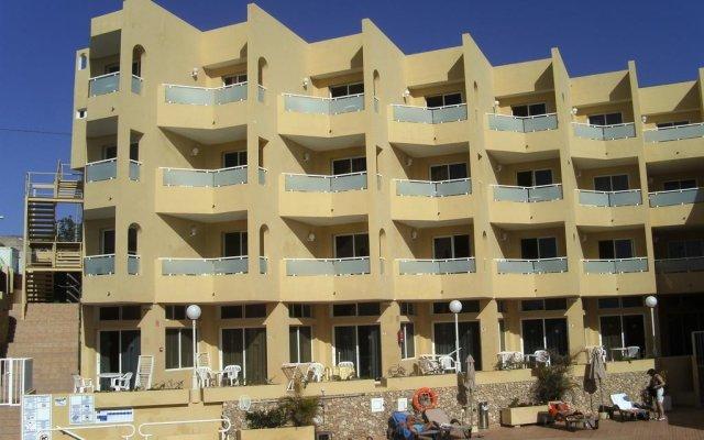 Отель Morasol Apartamentos вид на фасад