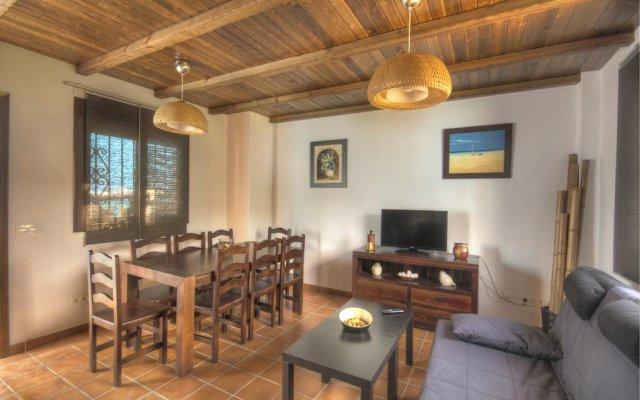 Отель Casa el Genal Хускар комната для гостей