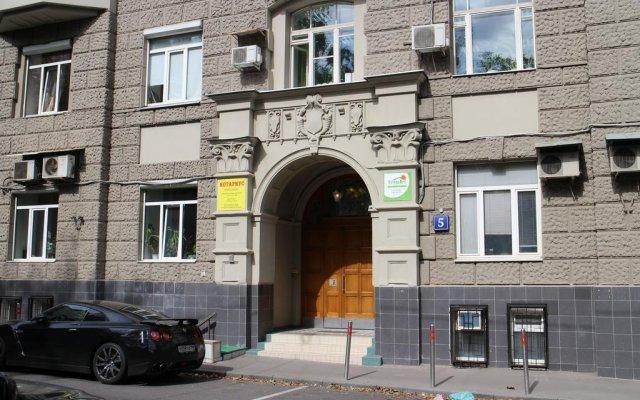 Top Hostel Москва вид на фасад