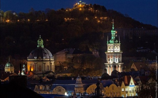 Гостиница Lviv of Open Hearts вид на фасад