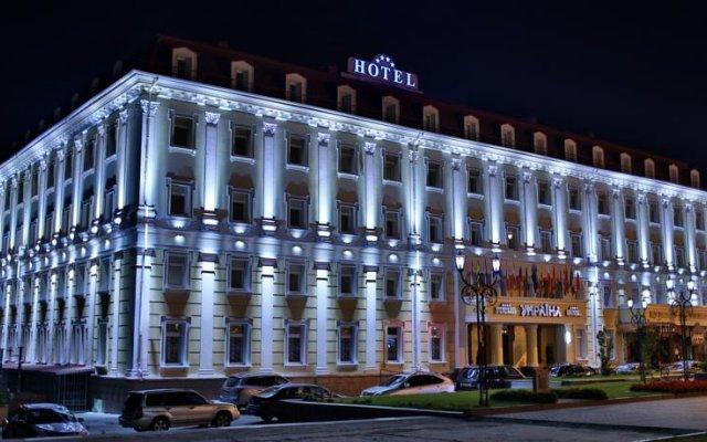 Гостиница Украина Ровно вид на фасад