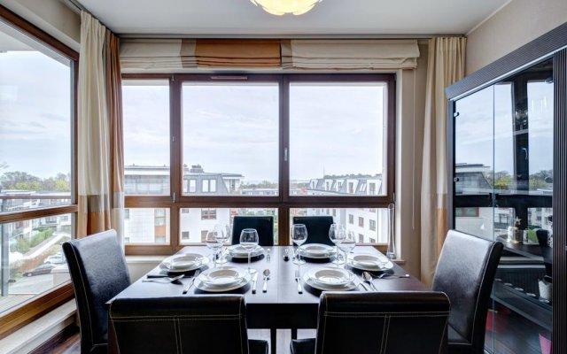 Отель Dom & House Apartamenty Aquarius Сопот комната для гостей