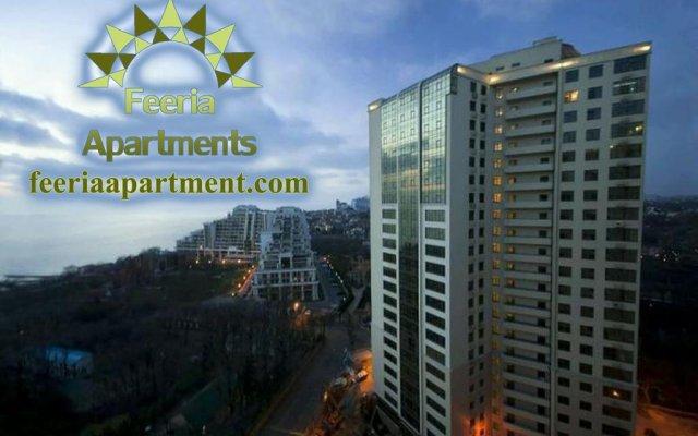 Апартаменты Feeria Apartment вид на фасад