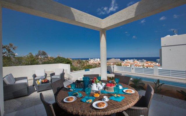 Отель Villa Margarita Bay Кипр, Протарас - отзывы, цены и фото номеров - забронировать отель Villa Margarita Bay онлайн комната для гостей