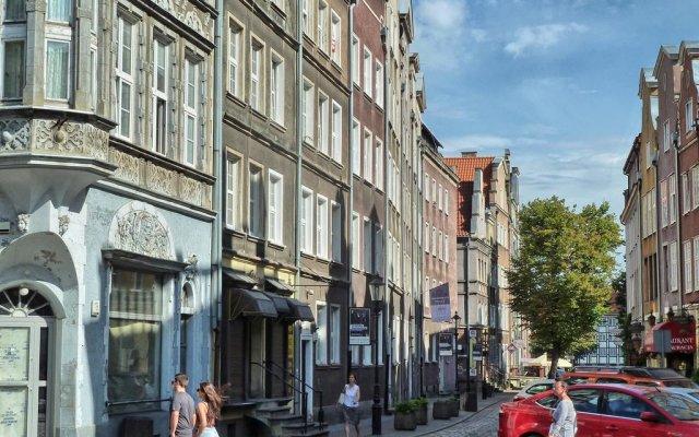 Апартаменты Gdańsk deluxe Apartments Gdansk вид на фасад