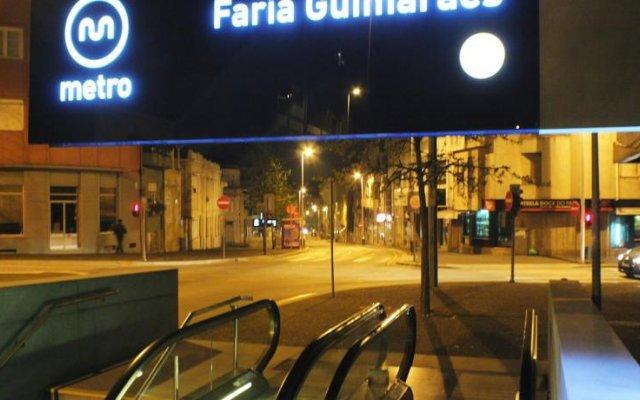 Отель Residencial Faria Guimarães вид на фасад