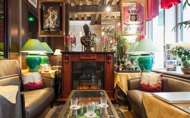Отель Bersolys Saint-Germain Франция, Париж - отзывы, цены и фото номеров - забронировать отель Bersolys Saint-Germain онлайн гостиничный бар