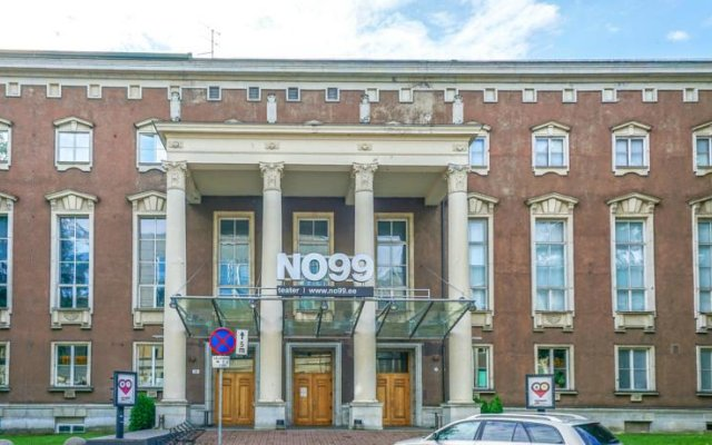 Отель Kaupmehe Accomodation вид на фасад