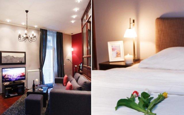 Апартаменты Basco Apartment Terazije Square комната для гостей