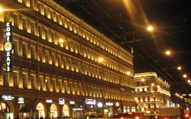 Отель Меблированные комнаты Баттерфляй Санкт-Петербург вид на фасад