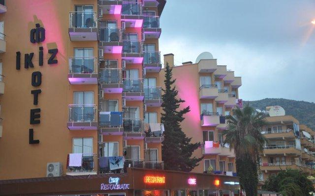 Отель Kleopatra Ikiz Otel вид на фасад
