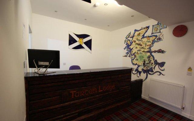 Отель Tartan Lodge интерьер отеля