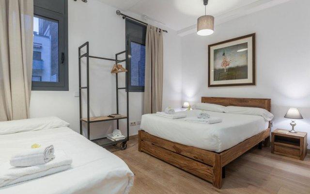 Отель Sunny Flat Барселона комната для гостей