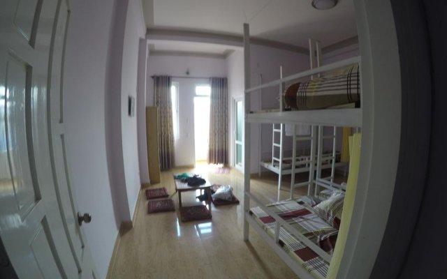 Отель SunnyDalat Homestay Далат комната для гостей