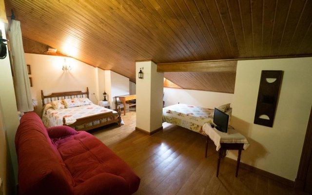 Отель Casa Rural Martxoenea Landetxea комната для гостей