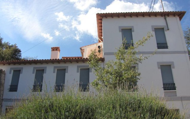Отель Apartamentos Fuente en Segures вид на фасад
