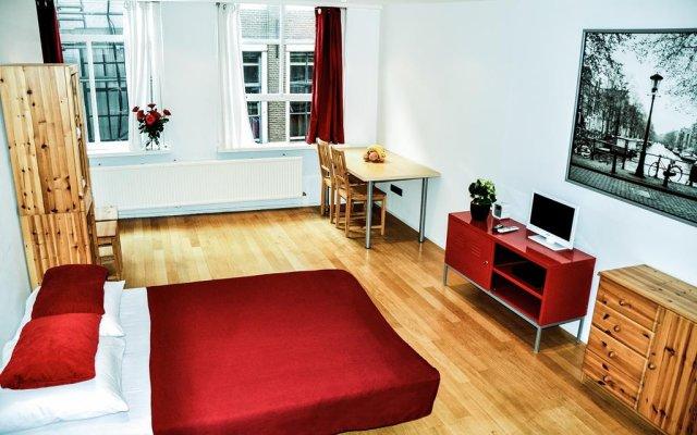 Апартаменты Red Light Studio Амстердам комната для гостей