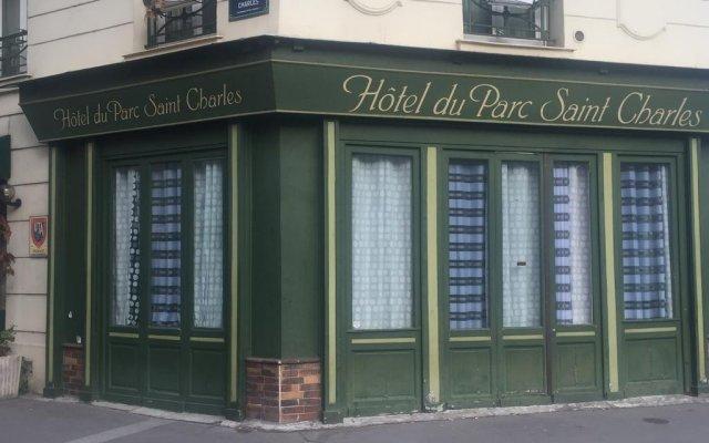 Hotel Du Parc Saint Charles вид на фасад