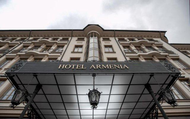 Гостиница Армения вид на фасад