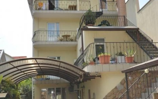 Гавань-Адлер Отель вид на фасад