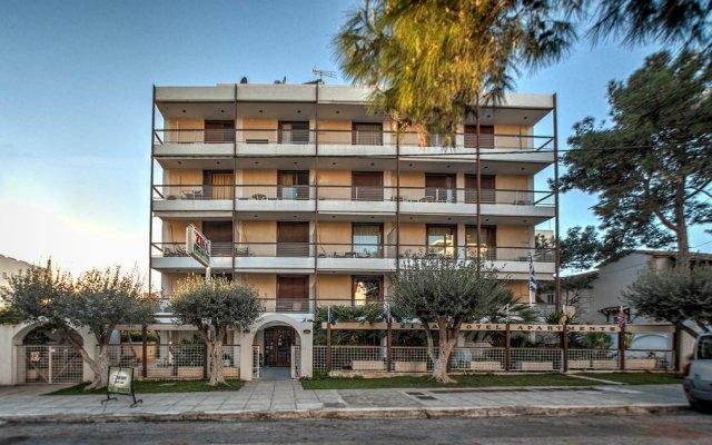 Zina Hotel Apartments вид на фасад