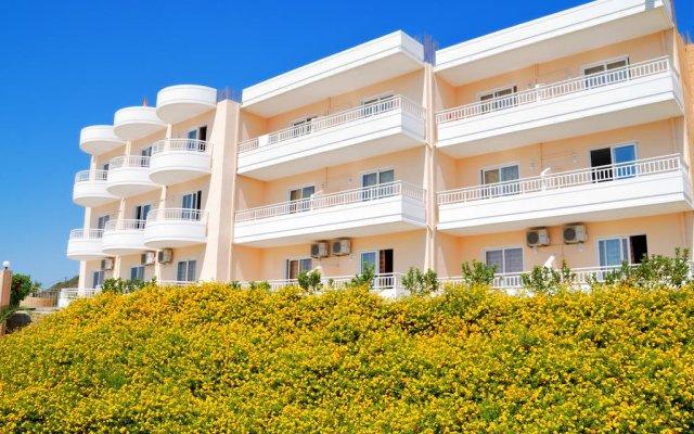 Diagoras Hotel вид на фасад