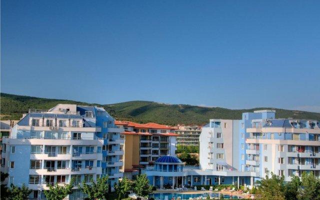 Апартаменты ПМГ Апартаменты Лагуна Солнечный берег вид на фасад