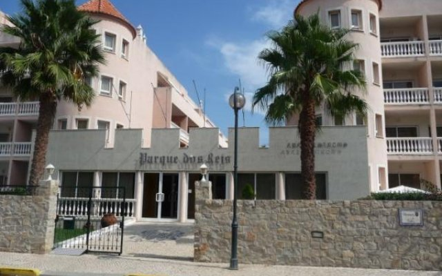 Отель Parque dos Reis вид на фасад