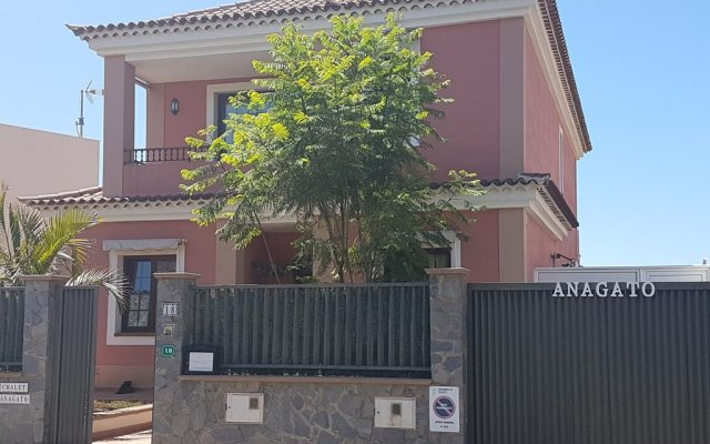 Отель Chalet Anagato вид на фасад