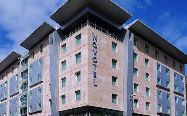 Отель Novotel Glasgow Centre вид на фасад