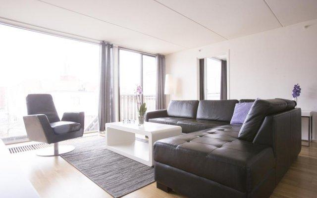 Отель City Housing - Klostergaarden Exclusive Apartments Норвегия, Ставангер - отзывы, цены и фото номеров - забронировать отель City Housing - Klostergaarden Exclusive Apartments онлайн комната для гостей