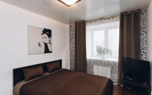 Апартаменты Apartments in Center of Yekaterinburg Екатеринбург комната для гостей