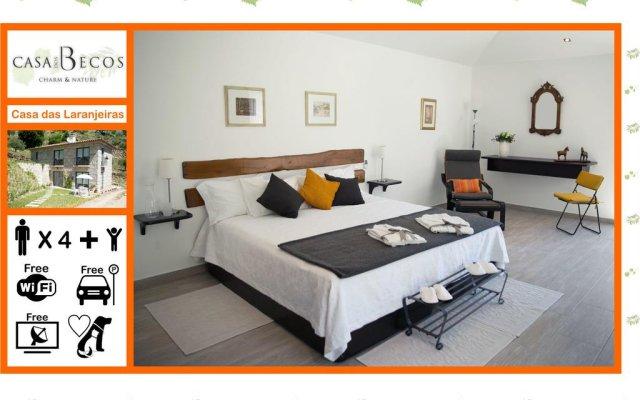 Отель Casa dos Becos комната для гостей