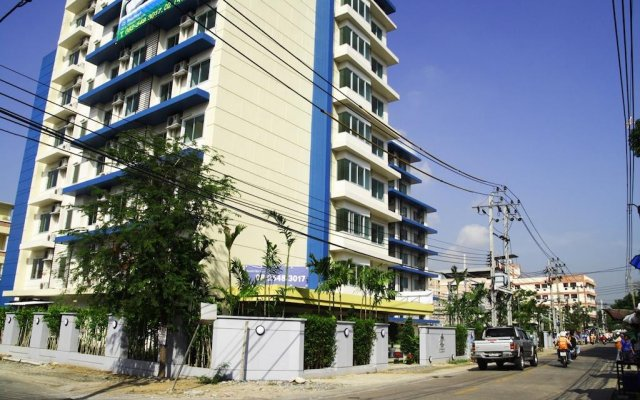 Отель CS Residence вид на фасад