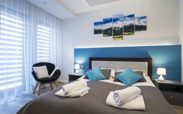 Отель Apartamenty Comfort & Spa Stara Polana Закопане комната для гостей
