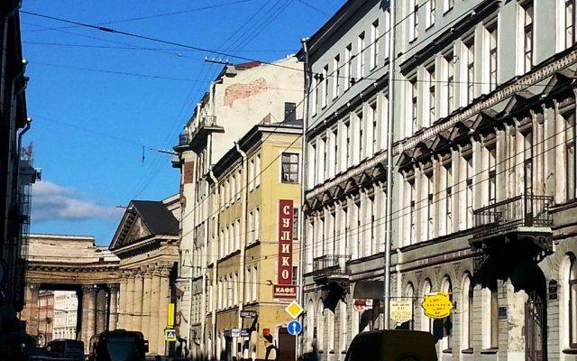 Мини-отель Роза Ветров вид на фасад
