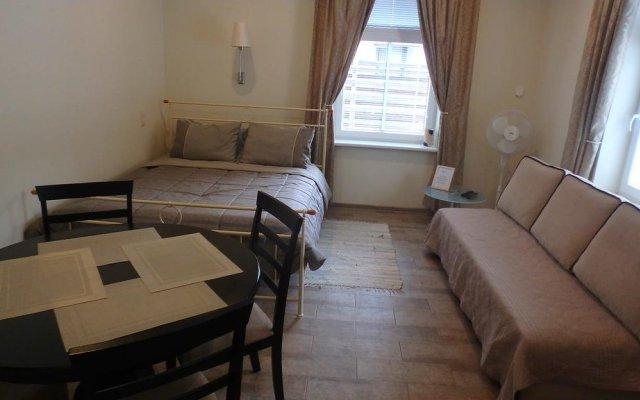 Апартаменты Wooden apartments комната для гостей