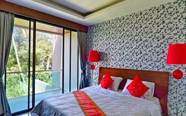 Отель Charming Pool Villa комната для гостей