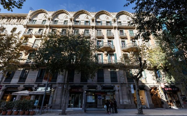 Отель Ciudad Condal Paseo de Gracia Испания, Барселона - отзывы, цены и фото номеров - забронировать отель Ciudad Condal Paseo de Gracia онлайн вид на фасад