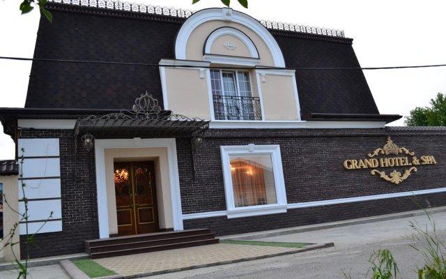 Гостиница Апарт-Отель Grand Hotel&Spa в Майкопе отзывы, цены и фото номеров - забронировать гостиницу Апарт-Отель Grand Hotel&Spa онлайн Майкоп вид на фасад