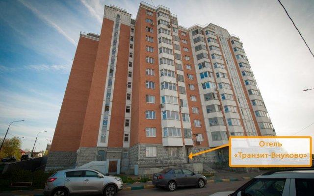 Отель Меблированные комнаты Транзит-Внуково Москва вид на фасад