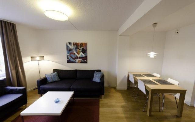 Отель Berling Apartments Швеция, Карлстад - отзывы, цены и фото номеров - забронировать отель Berling Apartments онлайн комната для гостей