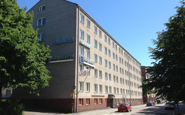 Отель Eurohostel - Helsinki вид на фасад
