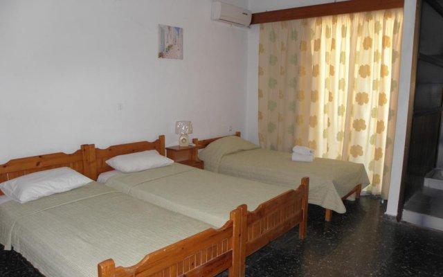 Отель Pension Afroditi Парадиси комната для гостей