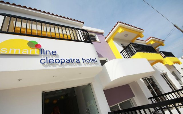 Sea Cleopatra Napa Hotel вид на фасад