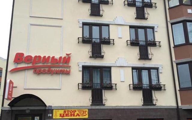 Гостиница Apartaments na Gusarskoy вид на фасад