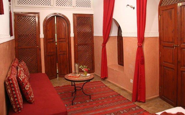 Отель Riad Zen House Марракеш комната для гостей